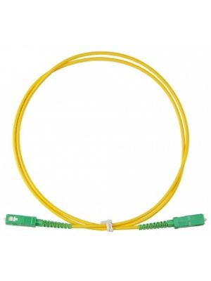 1m Fibre Optical Patch Cord - SC/APC to SC/APC