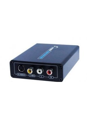 HDMI to AV Converter with S-Video