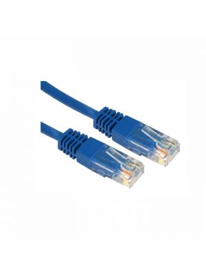 Hills Cat5E 20cm Patch Lead Cable in Blue - Bulk Buy x 100