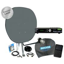 Platinum Portable Satellite TV Kit