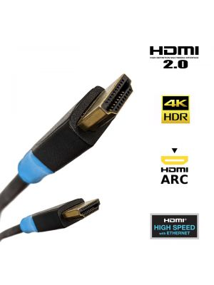 HDMI Cable 4K Ultra HD High Speed with Ethernet HEC ARC 1m